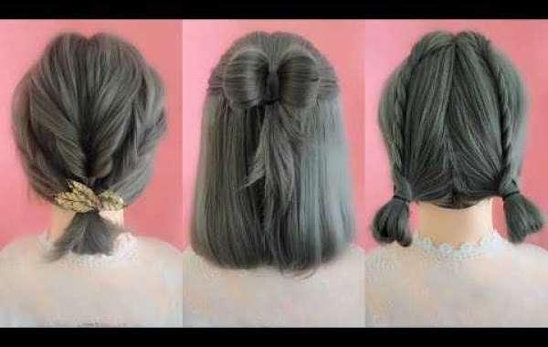 En iyi Örgü Kısa Saç Modelleri - Kolay Kısa örgü Saç Modeli