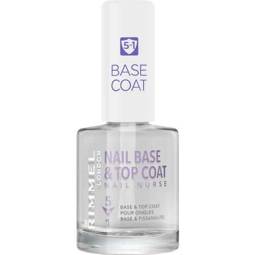 Rimmel London Nail Nurse Base & Top Coat 5