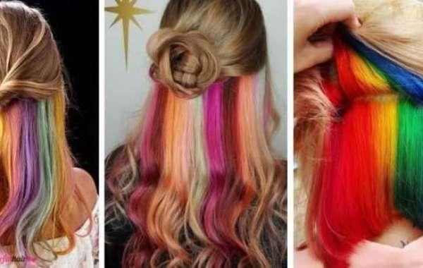 Gökkuşağı Saç Modeli Saçlara Sahip Olun! Video